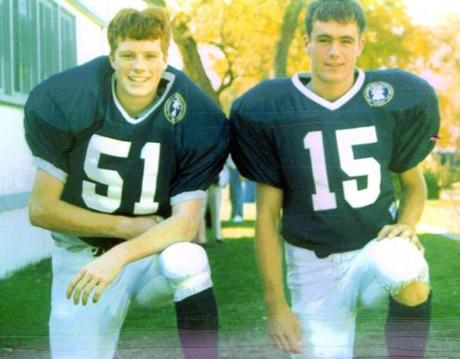 After graduating in 1999 from Buckingham Browne and Nichols, where they were cocaptains of the football team, Joe and Matt Kennedy attended Stanford University.