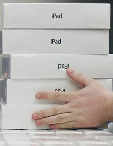 Fifty-five million iPads have been sold since 2010.