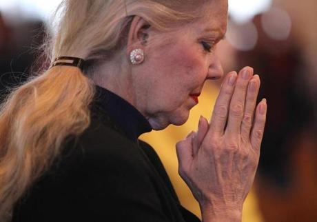 Carol Connors attended an 11 a.m. Mass at the Hanson church.
