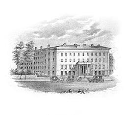 The Tremont House in 1852.