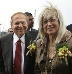Adelson and his wife, Dr. Miriam Ochshorn, married in 1991.