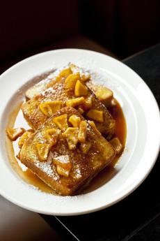 BStreet-Challah French Toast With Carmel Apples by Anthony Tieuli