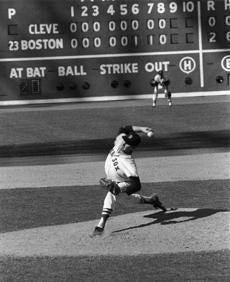 Dave Morehead fired a no-hitter for the Red Sox at Fenway Park on Sept. 16, 1965.