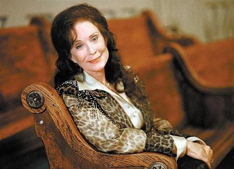 Loretta Lynn has been writing songs for over 50 years.