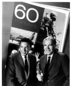 He and Harry Reasoner (right) were the first co-hosts of '60 Minutes.'