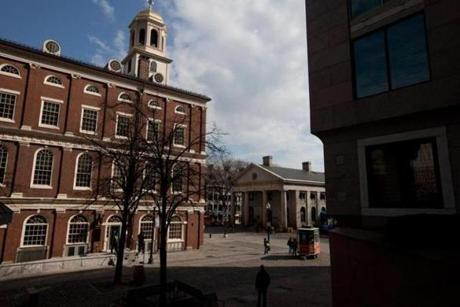 The state of the art welcome center at Faneuil Hall will open on Memorial Day.  The Black Heritage Trail tour will now start here with the Freedom Trail tour.