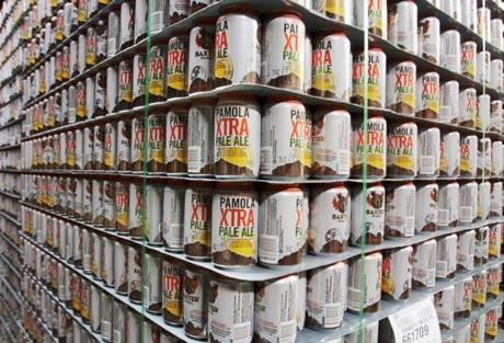 Baxter Brewing Co. in Maine was the first New England craft brewer to puts its entire beer lineup in cans or kegs.