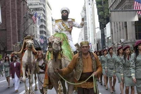 "Sacha Baron Cohen plays the title role in ""The Dictator."""