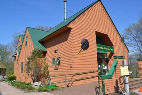 The Great Bay Discovery Center has exhibits showcasing the history and ecology of the estuary.