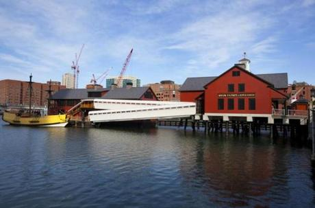 Boston Tea Party Ships & Museum.