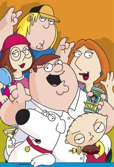 "The Griffins of ""Family Guy"""