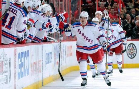 After hoisting one trophy in April, Kreider is hoping now to lift another, the Stanley Cup, in June.