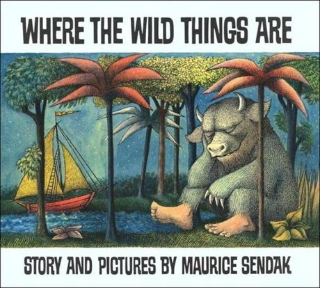 The ''Where the Wild Things Are'' cover art.