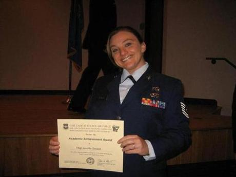 Jennifer Norris graduated from Energy Management School at Fort Leonard Wood Army Base in Missouri.