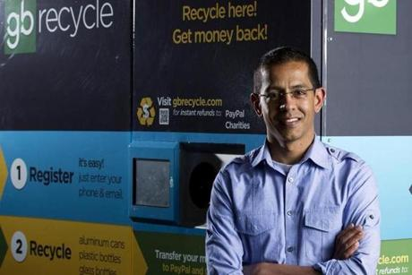 Shanker Sahai of Greenbean Recycle.
