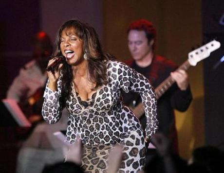 Donna Summer performed with Earth, Wind and Fire during the 13th annual Race to Erase MS gala in Century City, California in 2007.