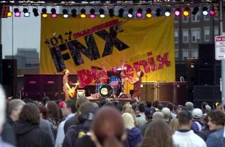 'FNX introduced many indie bands to the Boston audience.