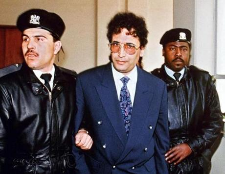 Mr. Megrahi, whom Libya initially refused to extradite, was escorted by officers in Tripoli in 1992.