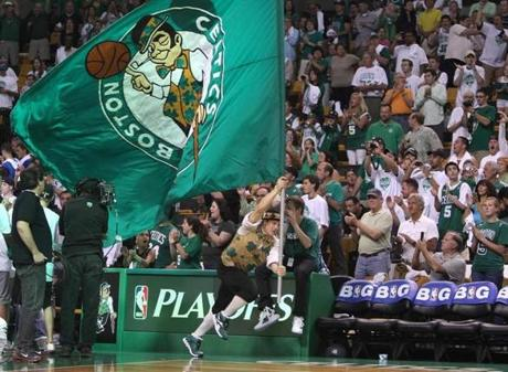 76ers at Celtics