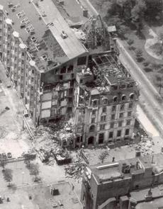 June 27, 1972: Ten days after the fatal fire, the former Hotel Vendome destruction remained an open wound in the city.