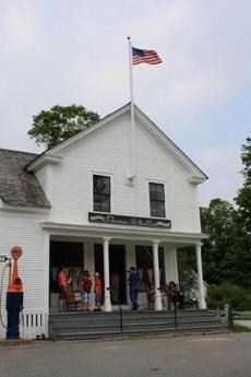 The Florence Cilley General Store at the President Calvin Coolidge State Historic Site is attached to the home where he was born.