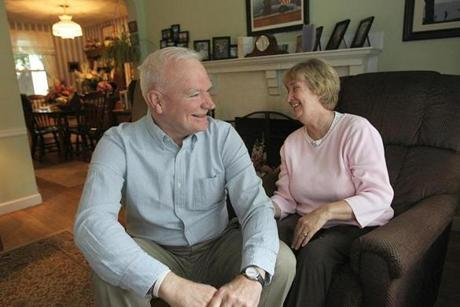Brad and Judy Simpson became Scott Brown's mentors and lifelong friends.