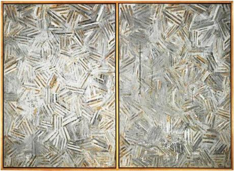 "Jasper Johns's ""The Dutch Wives'' (1975)."