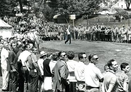 June 17 1963: The official preliminaries to the 63rd US Open Championship were launched at The Country Club with an early mustering of