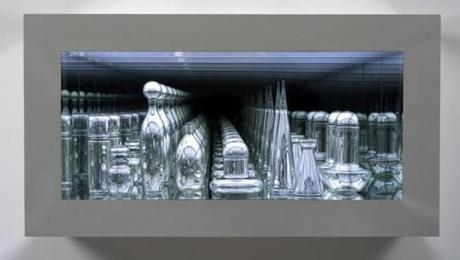 "From the ICA collection, McElheny's 2005 work ""Czech Modernism Mirrored and Reflected Infinitely.''"