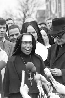 Sister Mary Antona was one of six nuns who led a march on Selma, Ala. in 1965.