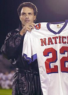 Doug Flutie graduated from Natick High School.