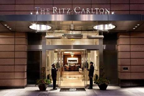 The Ritz-Carlton.