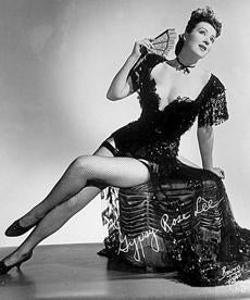 """Gypsy Rose Lee; Naked Ambition."""