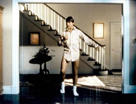"Tom Cruise began his ascent to fame in ""Risky Business."""