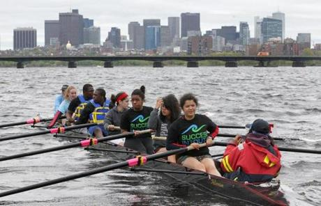 An innovative group at MIT has brought inner-city students onto the water as part of a program designed to raise their confidence and achievement.