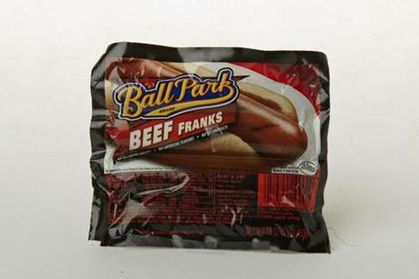 "Ball Park Beef Franks (8 links/16 oz./$5.99 at Roche Bros.); comments . . . ""Soft and mushy. Not in a good way."""