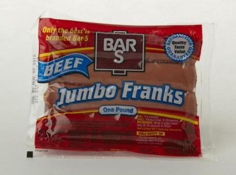 "THE WINNER: Bar S Beef Jumbo Franks (8 links/16 oz./$3.79 at Foodmaster); comments . . . ""Can a hot dog flavor be 'complex'?"" ""Favorite."" ""Lotta flavor."""