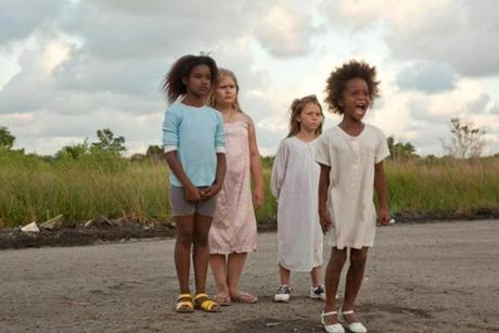 """I feel like we were meant to find her,"" director Benh Zeitlin says of Quvenzhané Wallis (right), who was cast as Hushpuppy after 4,000 girls had auditioned."