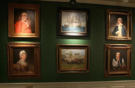 Some of the portraits at the museum come to life.