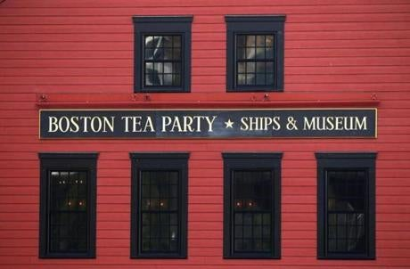 BOSTON ,MA 06/ 22/ 2012: BOSTON TEA PARTY SHIPS MUSEUM is almost ship shape for its opening next week on Congress Street, Boston. ( David L Ryan / Globe Staff Photo ) SECTION: METRO TOPIC TeaParty
