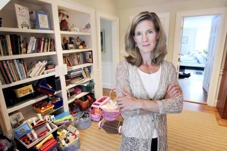 Jessica Pohl of Weston has kids who have largely outgrown their toys, but she can't give them away.