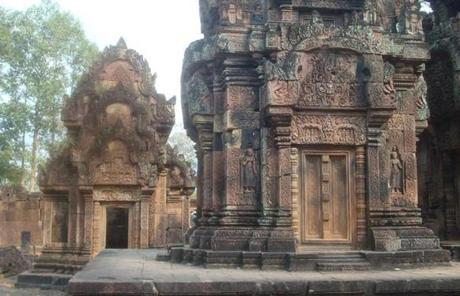 Angkor Wat and the complex surrounding it, including the Banteay Srei temple, draw droves of tourists.