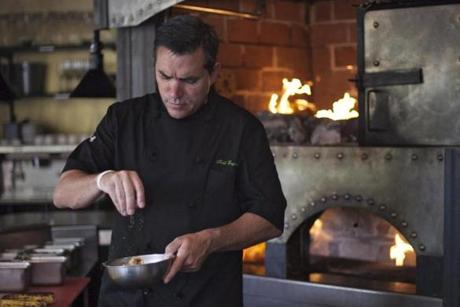 Celebrity chef Todd English has reopened Charlestown's Olives, the restaurant that put him on the culinary map. It was closed for two years following a grease fire and has now been renovated.