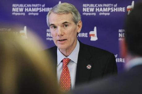 Senator Rob Portman of Ohio has credentials that dovetail with Mitt Romney's.