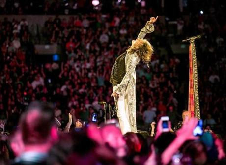 Aerosmith returns to the Garden Thursday for another show.