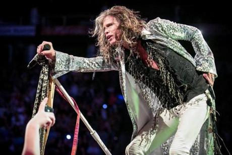 No matter how battered or broken Aerosmith has appeared to be over the past couple of years, the band soared through the 90-minute homecoming.