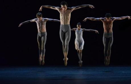 In Canadian-born choreographer Peter Quanz's 2010