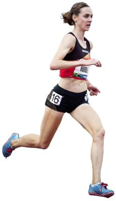 Molly Huddle said smaller brands like Saucony develop relationships with their sponsored athletes.