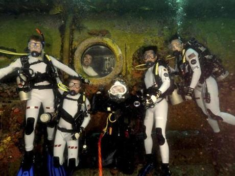 NASA aquanauts at Aquarius in June