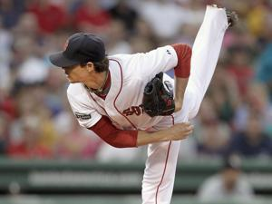 Though he received a no-decision, Clay Buchholz pitched like a winner, allowing one run over eight innings.